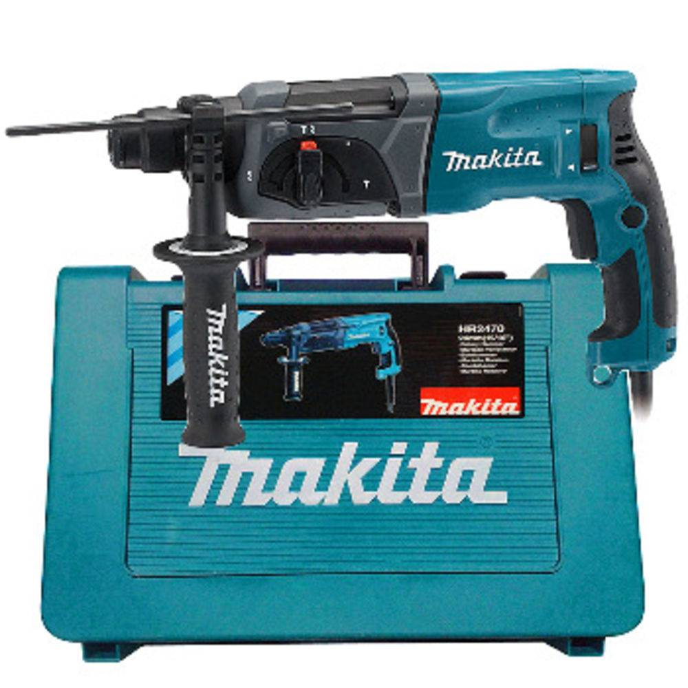 Martelete 24mm c/Encaixe SDS PLUS 800 Watts – HR2470 Makita